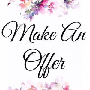 Other - Make Offers & Bundles 😊💗